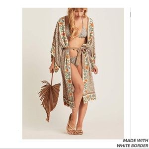 Other - Bohemian Kimono Cover Up
